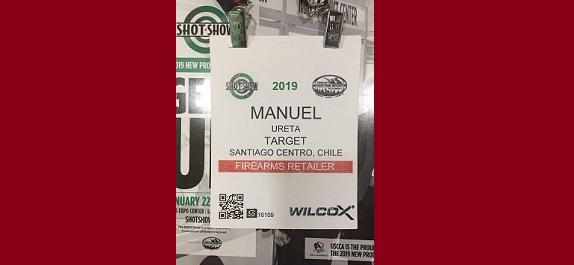SHOTSHOW 2019 BADGE