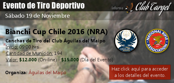 Campeonato Bianchi Cup 2016 (NRA)
