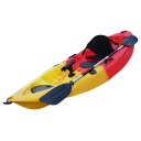 Kayak Kudo Outdoors Sunshine Angler Amarillo con Rojo