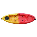 Kayak Kudo Outdoors Mini Amarillo con Rojo