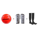 Kit de Football uhlsport Pelota + Canilleras + Medias